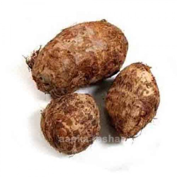 Taro root vegetable