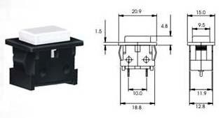 Push Button Switch Npb 1 Series (NPB 1 Se)
