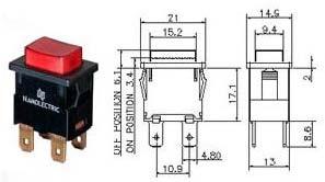 Push Button Switch Npb 400 Series (Item Code : NPB 400)