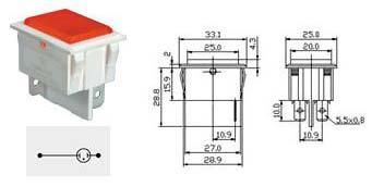 Electrical Indicator Light (NSI 1600)