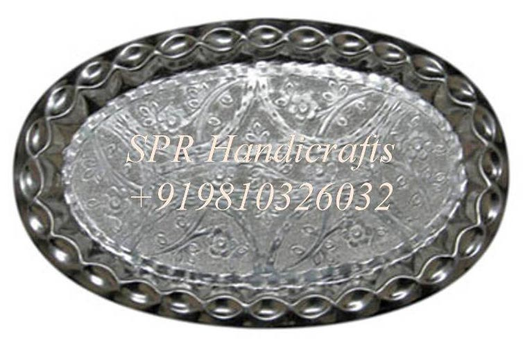 Oval Silver Thal