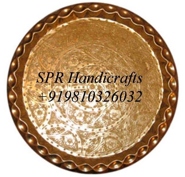 Round Golden Thal