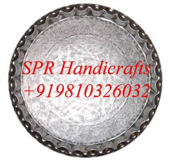 Round Silver Thal