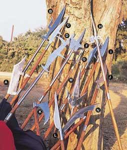 Polearms Manufacturer in Meerut Uttar Pradesh India by Raisons