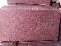 red granite tile