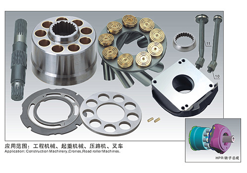 Linde Hydraulic Pump & Parts