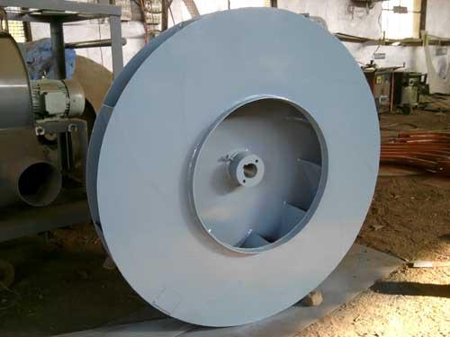 Centrifugal Fan Impellers : Backward curved id fan impeller manufacturer