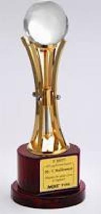 corporate award trophies