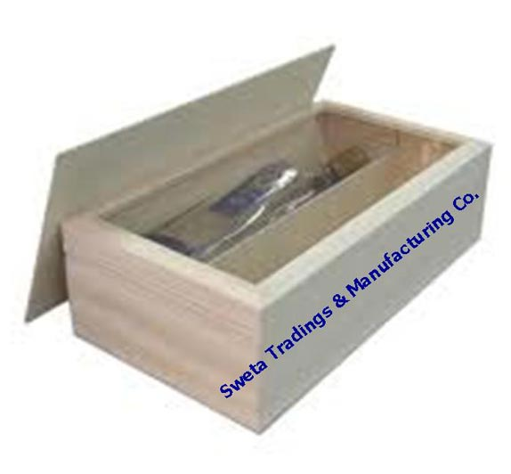 Open Lid Wine Box Manufacturer In Maharashtra India By Sweta