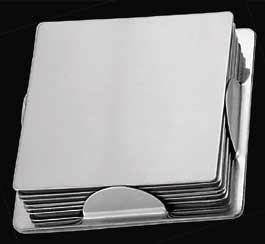 Stainless Steel Coasters (R - 152)