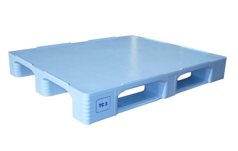 TC3 Flat Surface Plastic Pallets