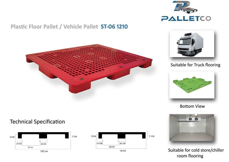 Vehicle pallet