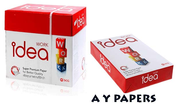 Idea Work A4 Copy Paper Manufacturer in Rajkot Gujarat India
