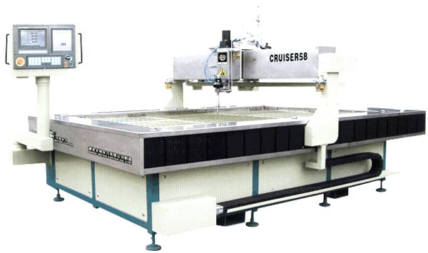 Cnc Water Jet Cutting Machine (DWJ1520 - FA)