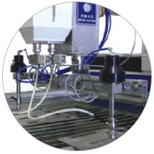 Water Jet Machines with Multi Cutting Heads (AIIL)