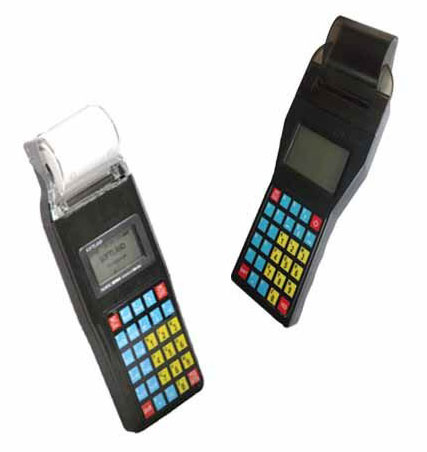 Portable Handheld Device for Ticketing