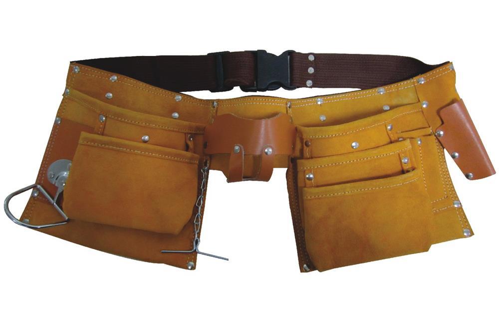 Professional Split Leather Carpenter Apron (Jcbl -9001)