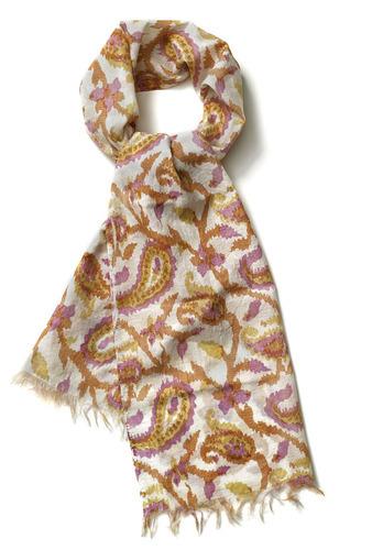 Ladies Digital Printed Cotton Silk Scarves