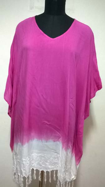 Rayon Ombre Dyed Ladies Beach Kaftan (7186)