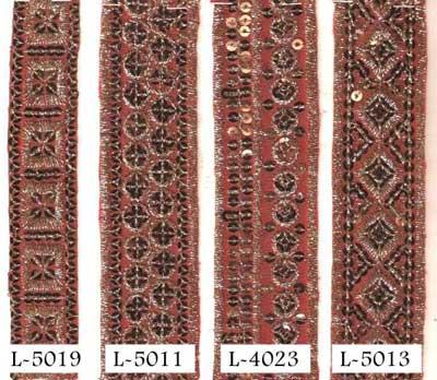 Dark Chart, Embroidered Lace (Dark chart.(dupiyan))