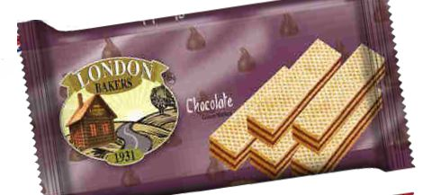 London Bakers Cream Wafers