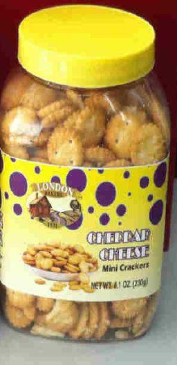 London Bakers Mini Crackers