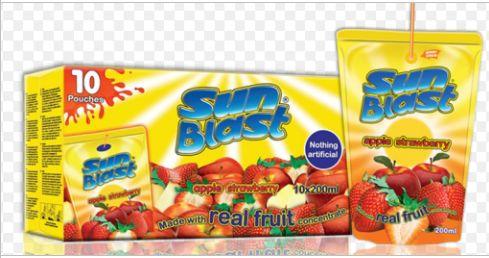 Sun Blast Real Fruit Juice