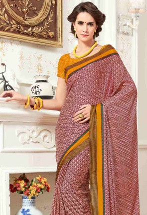 Msc4050b-ashika silk Multicolor Crepe Saree