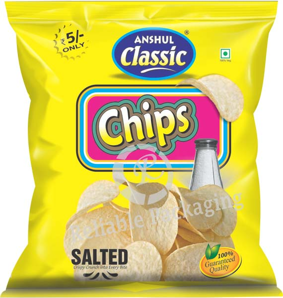 Laminated Chips Packaging Pouches