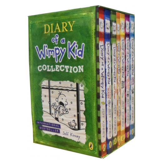 Diary Of A Wimpy Kid Set   India