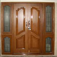 Burma Teak Wood Doors Manufacturer Exporters From