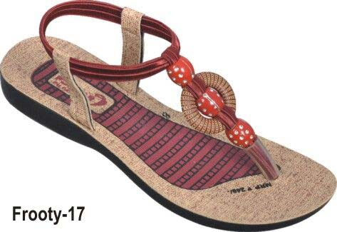 e0503cee4 Ladies PU Sandals Manufacturer in Jaipur Rajasthan India by Pp ...