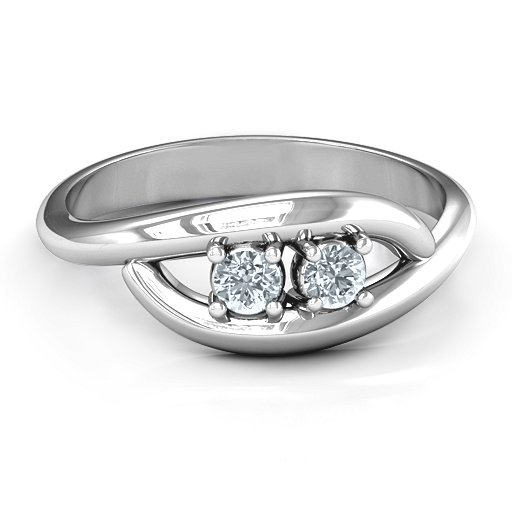 Sterling Silver Perfect Pair Couple's Ring