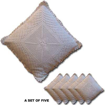 Crochet Cushion Covers (0064)