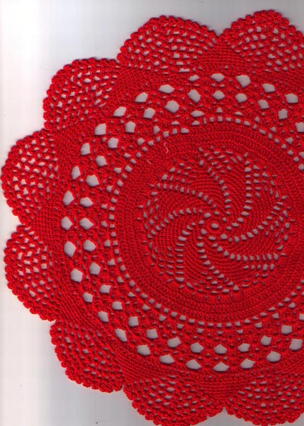 Round  table mats, doilies covers