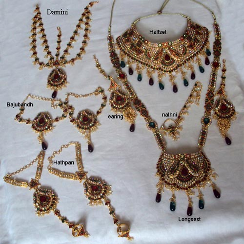 Artificial Bridal Jewellery Sets: Artificial Bridal Jewellery Set Manufacturer In Surat