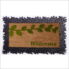 Pvc Pasted Rubber Tray Mats