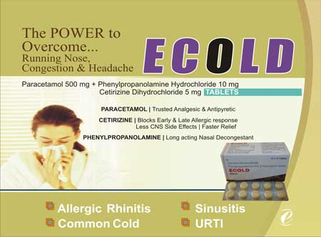 Anti Cold Tablets Manufacturer in Chennai Tamil Nadu India by