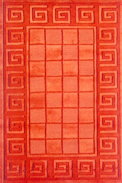 Hand Loom Tufted Woolen Rug - Sn0007 (SN0007)