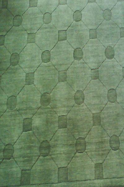 Hand Loom Tufted Woolen Rug - Sn0010 (SN0010)