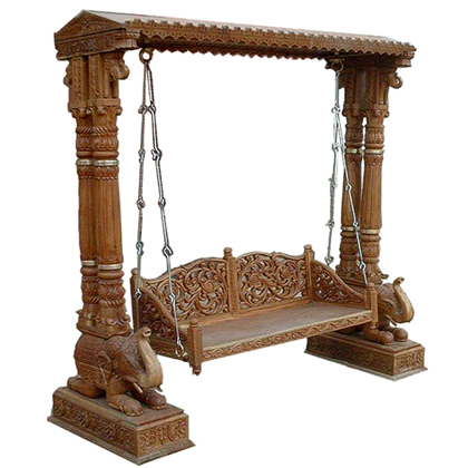 Buy Antique Swing From Indian Artisanal Vadodara India Id 173492