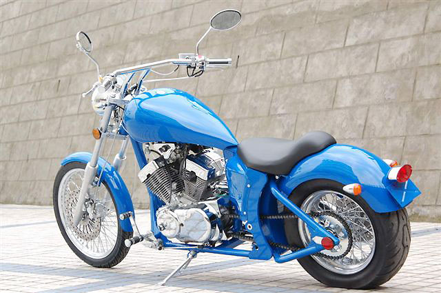 250cc V-Twin Engine Chopper bike Manufacturer & Exporters