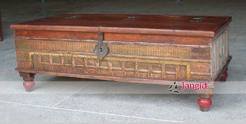 Indian Antique Trunk Box Pitara