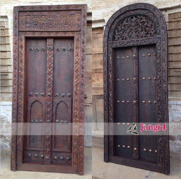 Indian Wooden Carved Antique Doors - Buy Indian Wooden Carved Antique Doors From Jangid Art & Crafts