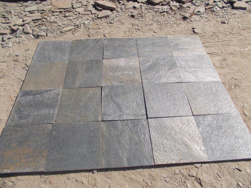 Indian Deoli Green Slate Tiles