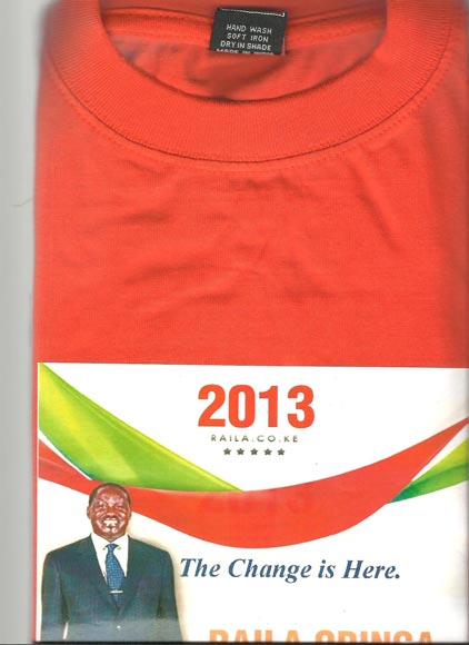 2013 Presidential Election Tshirts (AFRICA ELECTION)