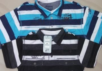 Boys  Stripe Polo (BP 110)