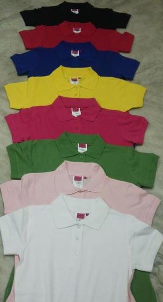 Ladies Half Sleeve Polo T-Shirts