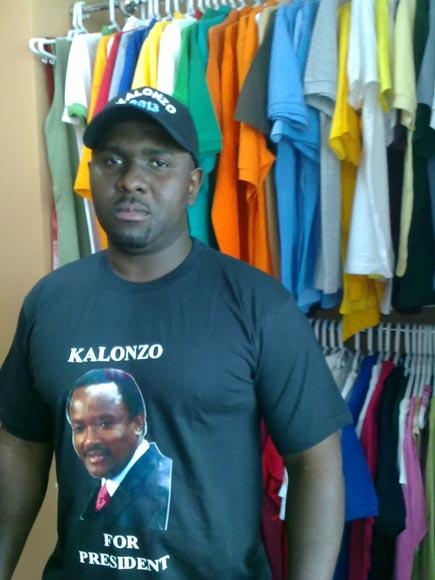 Presidential Tshirts (ken kl)