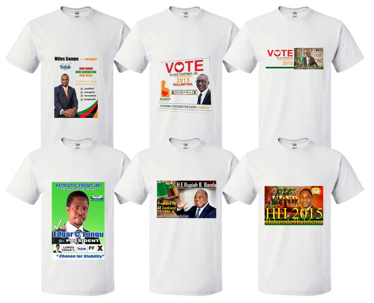 AFRICA ELECTION T-SHIRTS (ELWH 2016)